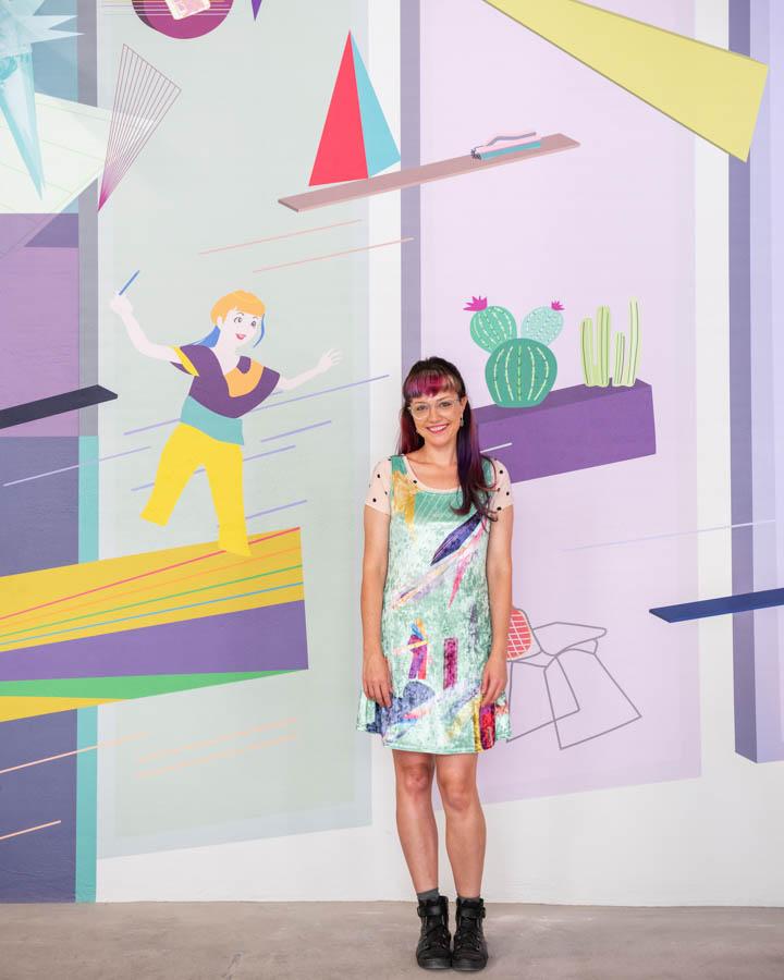 an artist for Caroline Geys