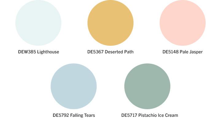 Dazey Penthouse Color Palette
