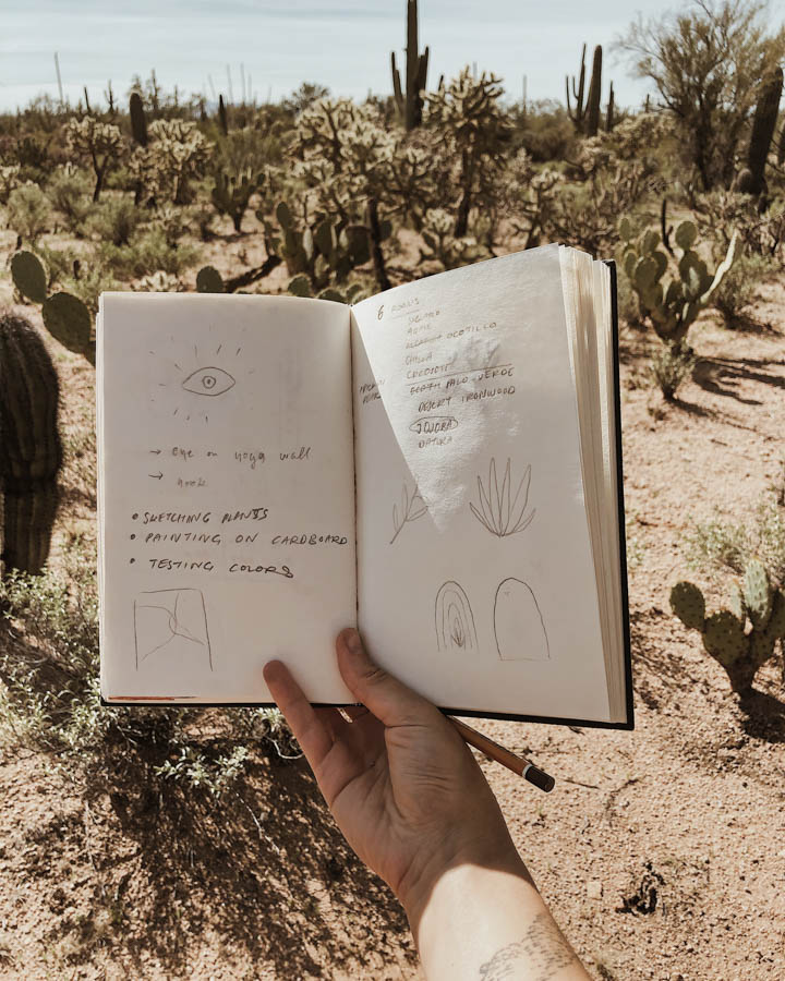 Saguaro National Parks-artist sketch
