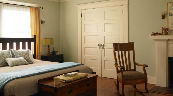 craftsman house colors bedroom