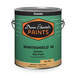 spartashield va exterior flat paint