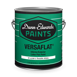 versaflat interior exterior latex flat paint