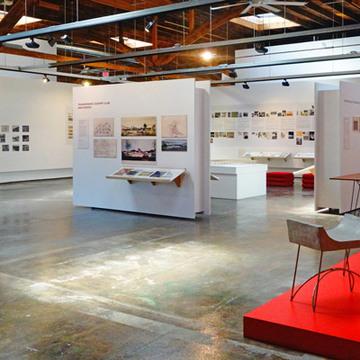 Regular exhibit space