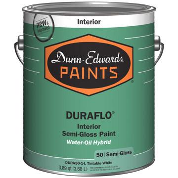 dunn edwards introduces duraflo premium interior water. Black Bedroom Furniture Sets. Home Design Ideas