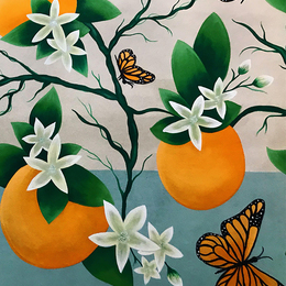 Small orange blossoms 2 720x900
