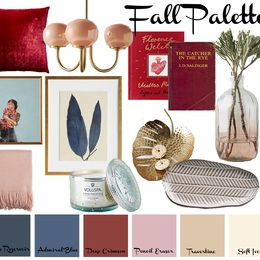 Small fall color palette