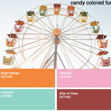 Regular candy colors