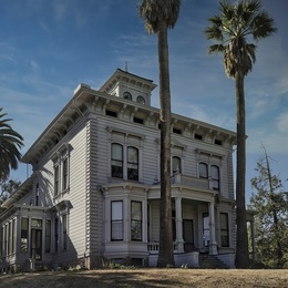 Small california historical landmark 312 muir national historic site mm 3534  john muir3